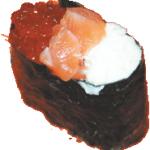 Люкс|Цена: 50руб. Состав: лосось копченый,икра лосося,сыр сливочный