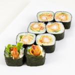 Фудзияма|Цена:240руб. 8шт. Состав:креветка в кляре, помидор, салат, майонез, хохланд